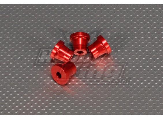 CNC Standoff 15 mm (M5) Rojo
