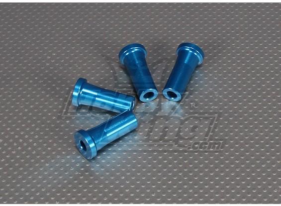 35 mm CNC pulgadas Standoff (M6,1 / 4 20) Azul