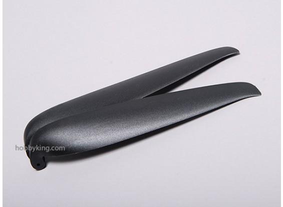 TGS plegable de precisión de la hélice 13X6.5 Negro (1 unidad)