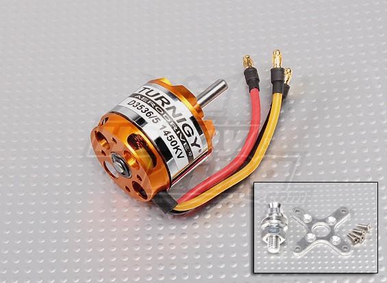 Turnigy D3536 / 5 1450KV sin escobillas del motor Outrunner