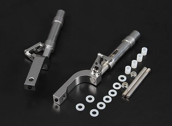 Las piernas de la aleación Oleo Offset 125 mm / 12,7 mm Pin (2 piezas)