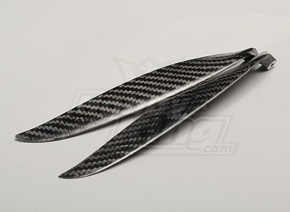 Plegado de fibra de carbono de la hélice 15x10 (1 unidad)