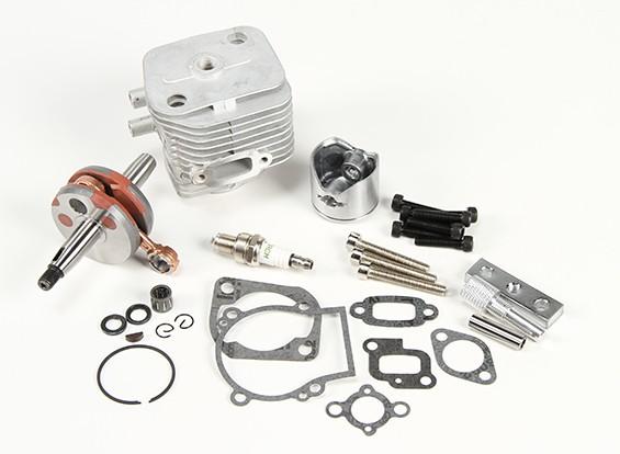 RS260-85056 30.5cc piezas del motor Conjunto Actualiza Baja 260 y 260s