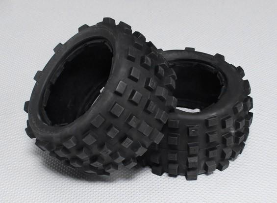 Neumático lleno de protuberancias conjunto (2Pcs / Set) - 260 y 260S