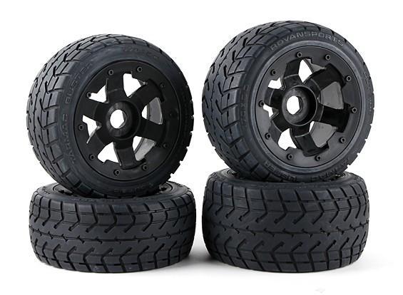 En rueda de carretera y el conjunto de los neumáticos (4pcs / set) - 260 y 260S
