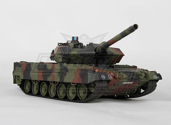 Leopard 2 A6-Battle Tank w / Tx / sonido / Infrarrojo