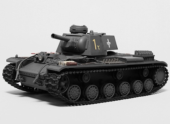 Panzerkampfwagen 753 (r) del tanque RTR RC w / Tx / sonido / Infrarrojo