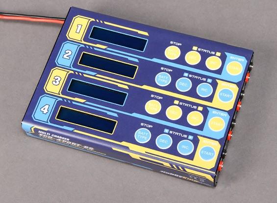 HobbyKing ™ ECO 4 x 6S polímero de litio cargador multi