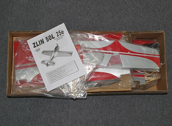 SCRATCH / DENT Zlin Escala Z-50L 1194mm 25e clase Deporte (ARF)