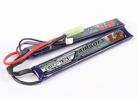 Turnigy nano-tech 1200mah 2S 15 ~ 25C Lipo AIRSOFT Paquete