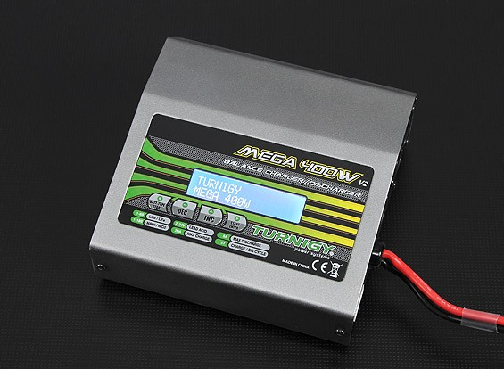 TURNIGY MEGA 400W V2 de polímero de litio cargador de batería (versión 2)