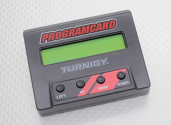 Turnigy 160A 1: 8 de la escala sin sensor ESC caja de programación