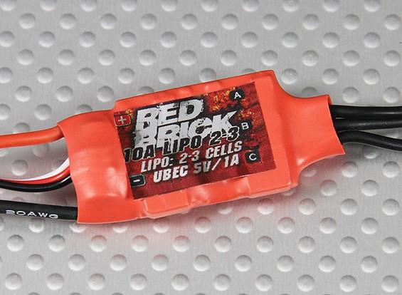 HobbyKing ladrillo rojo 10A ESC