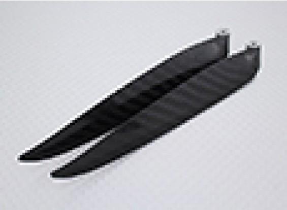 Plegable 13x8 de fibra de carbono de la hélice (1 unidad)