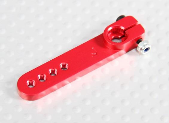 Pesado de la aleación 1.25in brazo de Servo - JR (rojo)