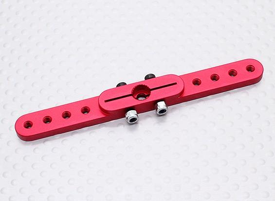 Deber pesada 3.0in aleación de Pull-Tire brazo de Servo - JR (rojo)