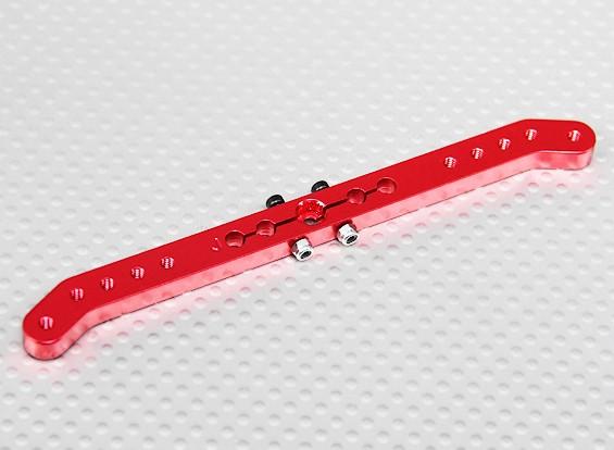 Deber pesada 4.6in aleación de Pull-Tire brazo de Servo - JR (rojo)