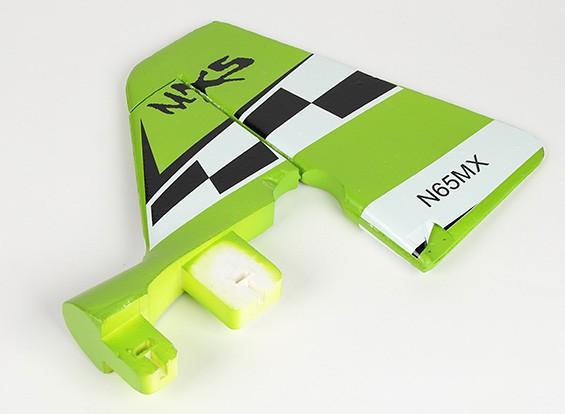 Verde MX2 3D - Sustitución de la cola vertical