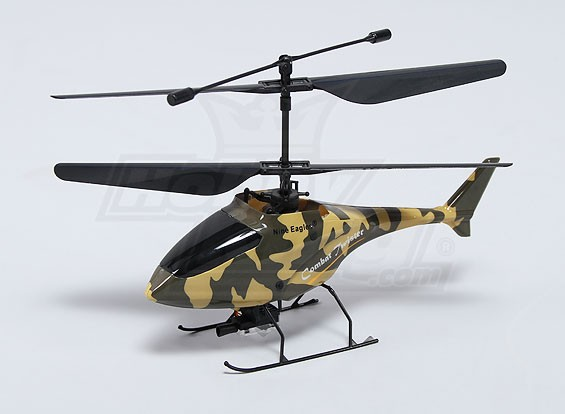 Combate Twister coaxial micro helicóptero de combate - Verde (Modo 1) (RTF)