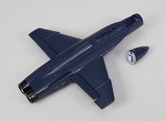 Los ángeles azules F-18 - Sustitución del fuselaje