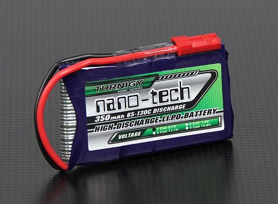 Turnigy nano-tech 350mah 1S 65 ~ 130C Lipo Paquete