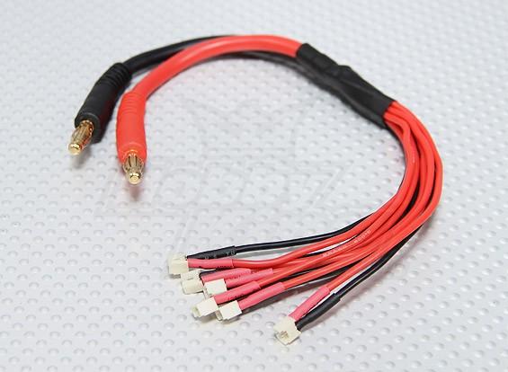 Micro JST carga paralela plomo (6 tapones)