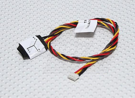 Sensor de aceleración FrSky TAS-01 telemetría triaxial