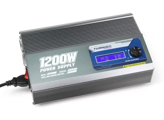 Unidad Turnigy 1200W 50A Fuente de alimentación (enchufe de Reino Unido)
