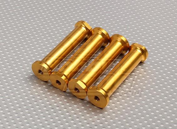M5 x 60mm separadores (oro)