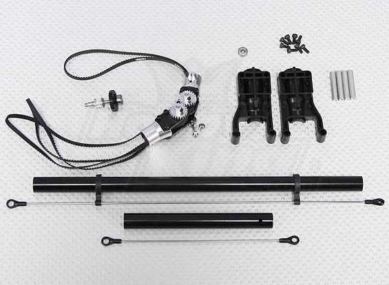 Helicóptero Escala de cola Offset Kit de conversión (Trex / HK 450 compatible)