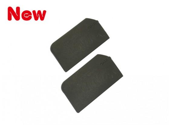 Gaui 100 y 200 Tamaño de alto rendimiento Estabilizador Cuchillas Paquete 40x21mm (203116)
