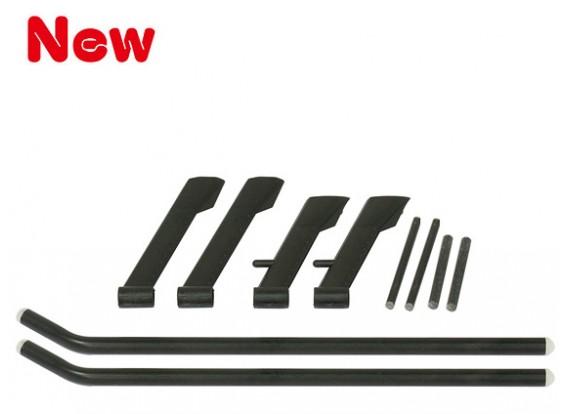 Gaui MD500 Landing Gear Set Negro (203776)