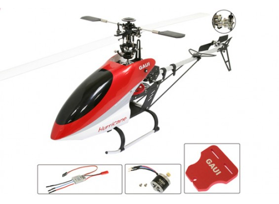 Juego de helicóptero huracán 200 V2 3D w / ESC / Motor