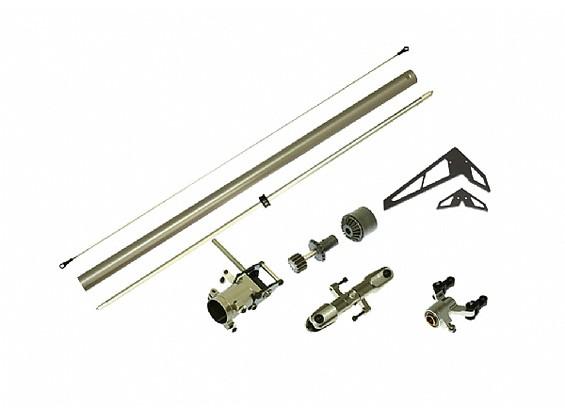 Gaui 425 CNC de par paquete de actualización de la cola del tubo (por 425mm de cuchilla)