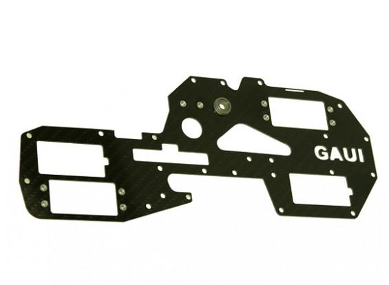 Gaui 425 y 550 H550 izquierda del carbón del marco con las piezas metálicas
