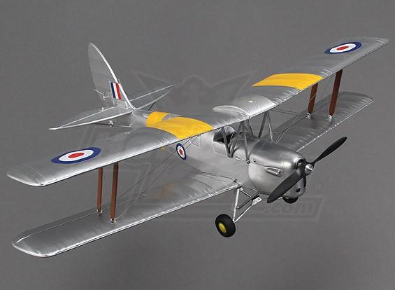Hobbyking Micro Tiger Moth 560mm w / soporte de exhibición (PNF)