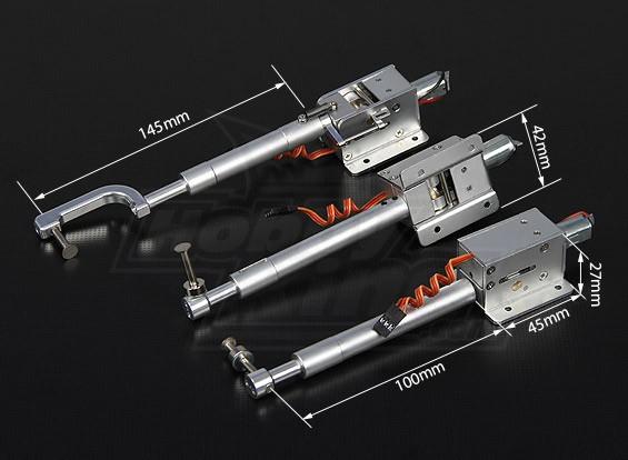 Turnigy Full Metal Servoless retracción con 100 mm Oleo piernas (triciclo) 1,20 clase