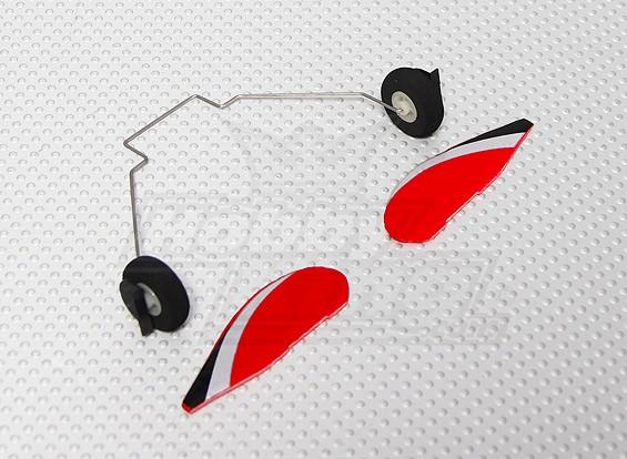 Edge 540 V3 Micro - Sustitución de rodamientos de apoyo