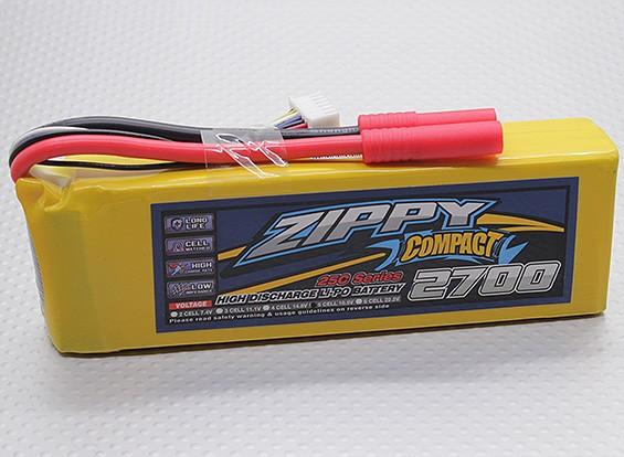 ZIPPY Compacto 2700mAh paquete 5S Lipo 25C