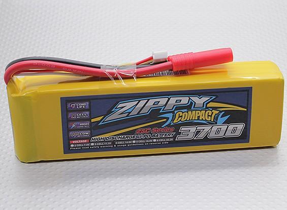 Lipo 25C Paquete ZIPPY Compacto 3700mAh 4S