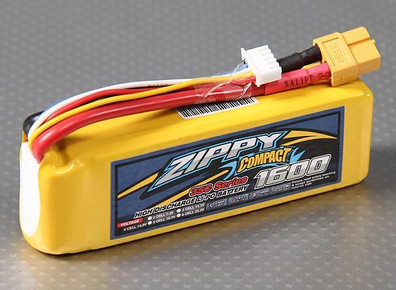 Lipo 35C Paquete ZIPPY Compacto 1600mAh 4S