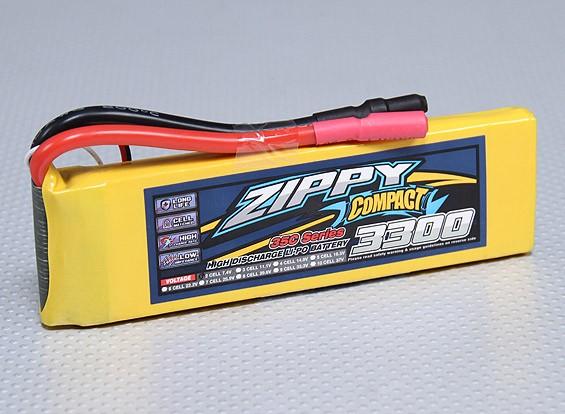 ZIPPY Compacto 3300mAh 2S Lipo 35C Paquete
