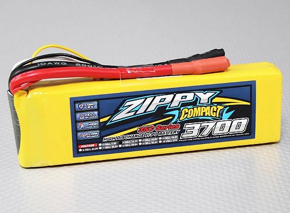 ZIPPY Compacto 3700mAh 3S Lipo 35C Paquete