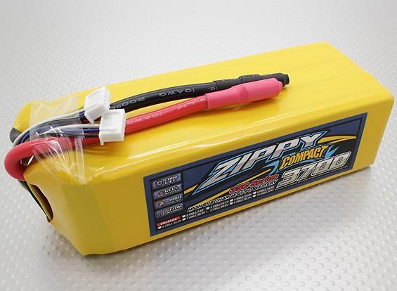 ZIPPY Compacto 3700mAh paquete 8S Lipo 35C