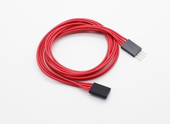 500 mm 4 pines cable de extensión para LED RGB de múltiples funciones del controlador / Controller