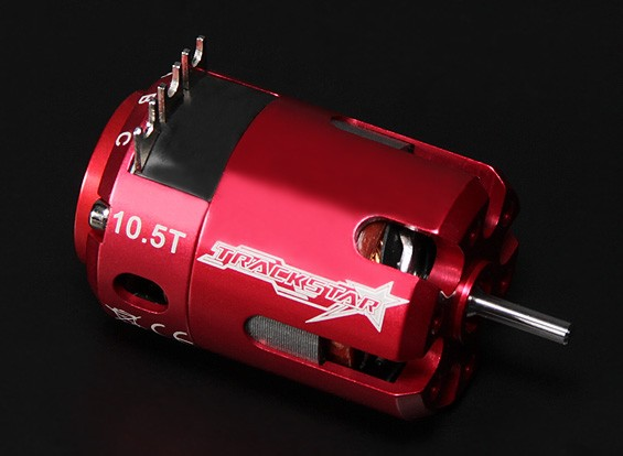 Turnigy TrackStar 10.5T Sensored 3730KV motor sin escobillas (ROAR aprobado)