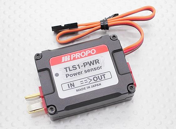 La energía del sensor de telemetría JR TLS1-PWR para XG Serie de 2,4 GHz DMSS Transmisores