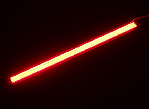 5W LED rojo de la aleación de la luz de tira de 120 mm x 10 mm (2S-3S Compatible)