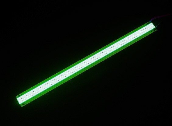 5W LED verde de la aleación de Gaza 150mm x 12mm (3s Compatible)
