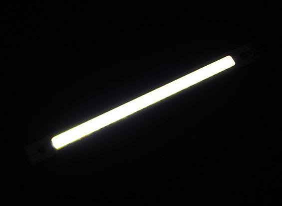 3W LED blanco de la aleación de Gaza de 120 mm x 12 mm (3s Compatible)